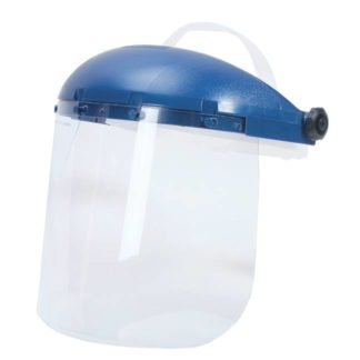 Sellstrom S39140 Single Crown Face Shield with Ratcheting Headgear