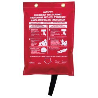 Sellstrom S97450 100% Fibreglass High-Temp Blanket
