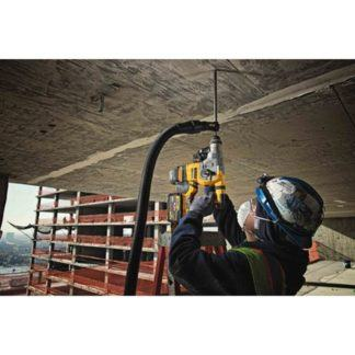 DeWalt DCH293B 20V Max XR Brushless L-Shape Rotary Hammer In Use 2