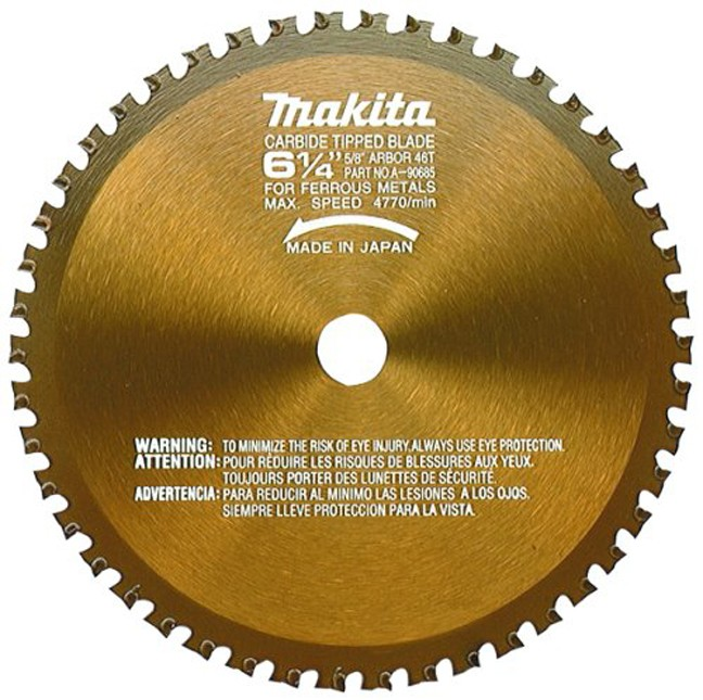 Makita A 90685 6 1 4 Quot 46t Metal Cutting Saw Blade Bc