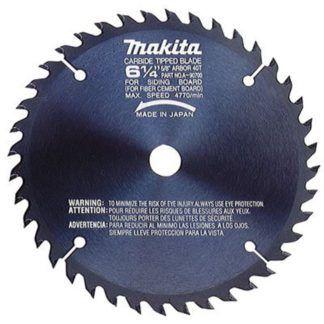 """Makita A-90700 6-1/4"""" 40T Carbide Fibre-Cement Saw Blade"""