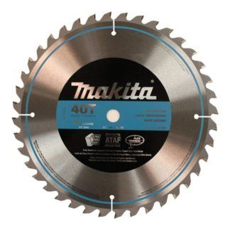 "Makita A-93669 10"" 40T Micro Polished Mitre Saw Blade"