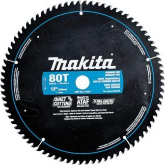 "Makita A-94801 12"" 80T Ultra-Coated Mitre Saw Blade"