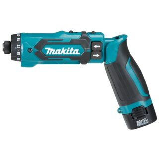 "Makita DF012DSE 1/4"" 7.2V Drill Driver Kit"