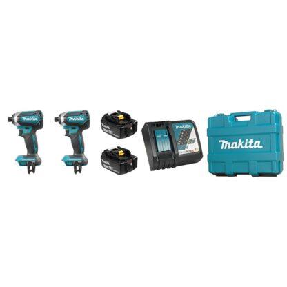 Makita DLX2186M 18V 4.0 Ah LXT 2 Tool Combo Kit