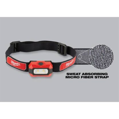 Milwaukee 2106 300-Lumen Headlamp 2