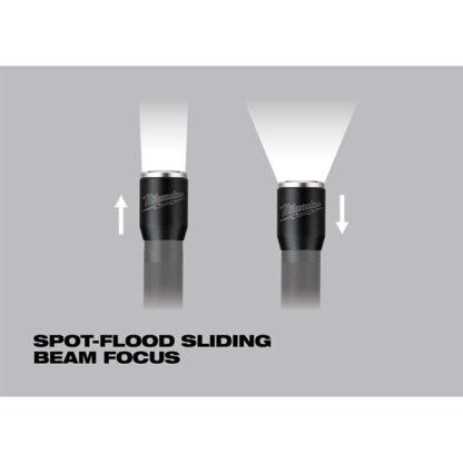 Milwaukee 2110-21 700-Lumen Rechargeable LED Flashlight 4