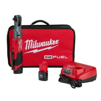"Milwaukee 2557-22 M12 FUEL 3/8"" Ratchet Kit"
