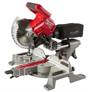 "Milwaukee 2733-20 M18 FUEL 7-1/4"" Dual Bevel Sliding Compound Miter Saw"