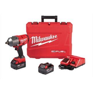 "Milwaukee 2766-22 M18 FUEL High Torque 1/2"" Impact Wrench with Pin Detent Kit"