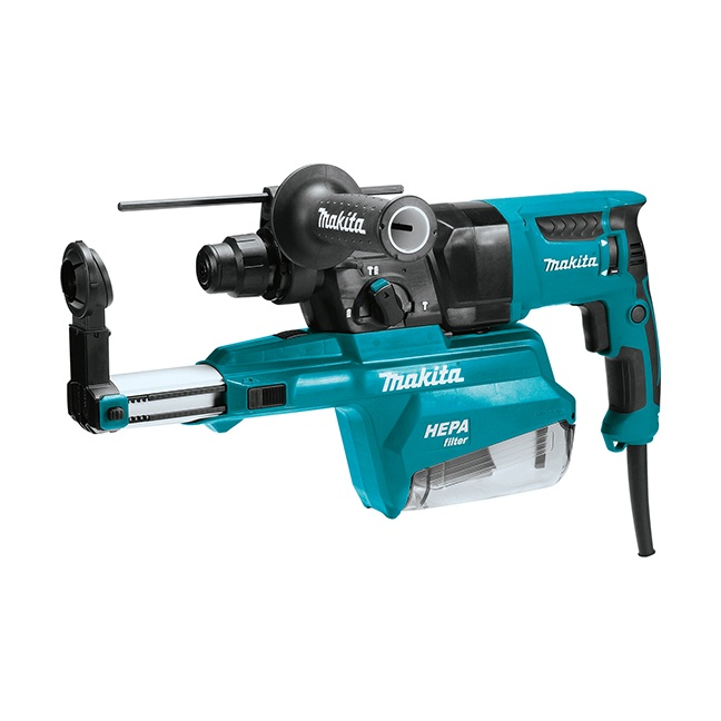 """Makita HR2651 1"""" SDS-Plus Rotary Hammer with Dust Extraction"""