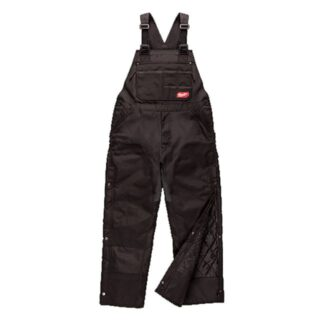 Milwaukee 261B GRIDIRON Zip-to-Thigh Bib Overall - Black