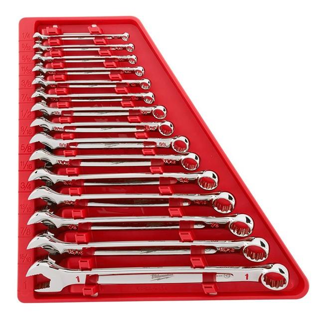 Milwaukee 48-22-9415 15PC Combination SAE Wrench Set