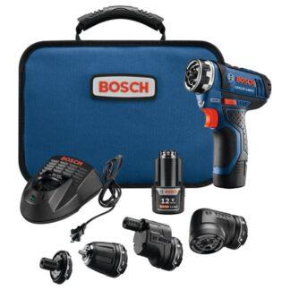 Bosch GSR12V-140FCB22 12V Max Flexiclick 5-In-1 DrillDriver System