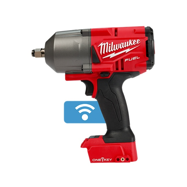 """Milwaukee 2863-20 M18 FUEL High Torque Impact Wrench 1/2"""" Friction Ring with ONE-KEY"""