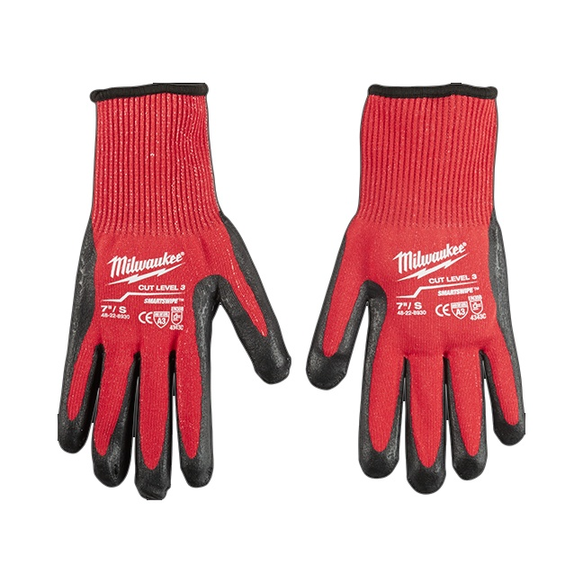 Milwaukee 48-22-8930 Cut Level 3 Dipped Gloves - Small