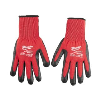 Milwaukee 48-22-8934 Cut Level 3 Dipped Gloves - XXL