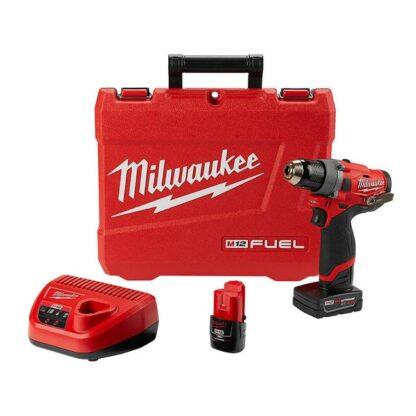 """Milwaukee 2503-22 M12 FUEL 1/2"""" Drill Driver Kit"""