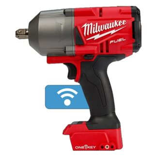 "Milwaukee 2862-20 M18 FUEL High Torque Impact Wrench 1/2"" Pin Detent with ONE-KEY"