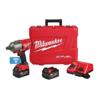 "Milwaukee 2864-22 M18 FUEL High Torque Impact Wrench 3/4"" Friction Ring with ONE-KEY Kit"