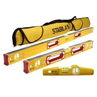 "Stabila 48370 196 Classic Level Set - 48""/24"" Torpedo and Case"