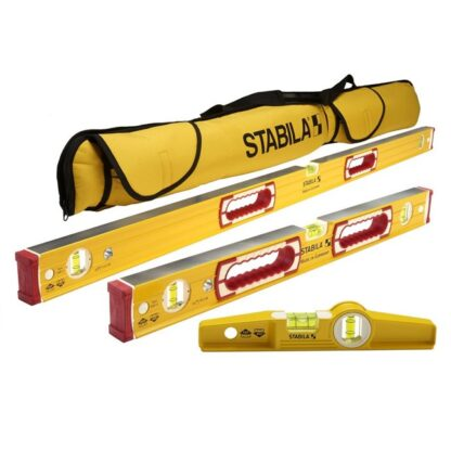 "Stabila 48370 196 Classic Level Set - 48""/24"" Torpedo and Case"