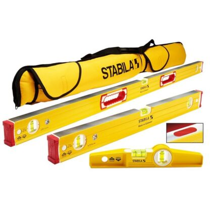 "Stabila 48380 196 Magnetic Level Set - 48""/24"" Torpedo and Case"