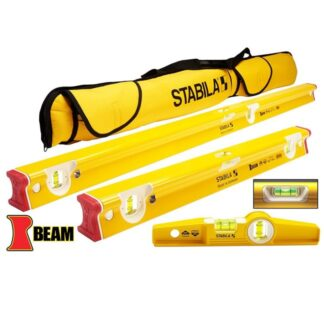 Stabila 48410 3-Piece R-Beam Level Set