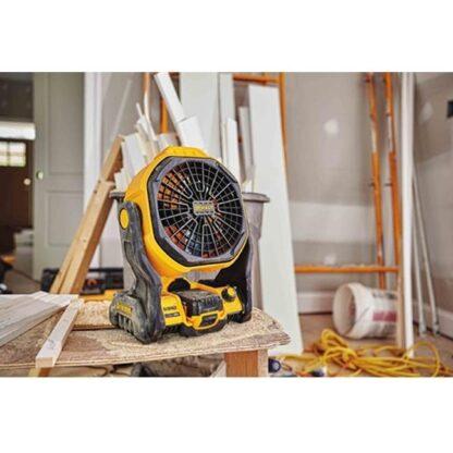 DeWalt DCE511B Corded or Cordless Jobsite Fan 4