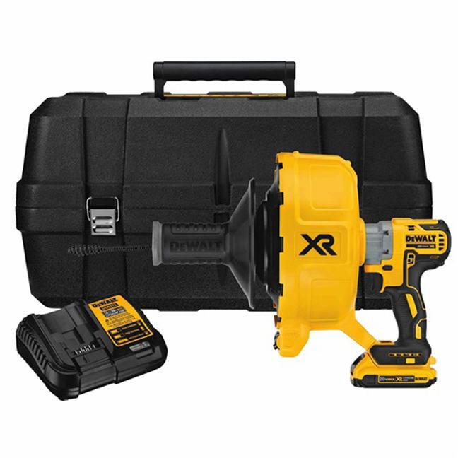 Dewalt DCD200D1 20V MAX XR Drain Snake Kit