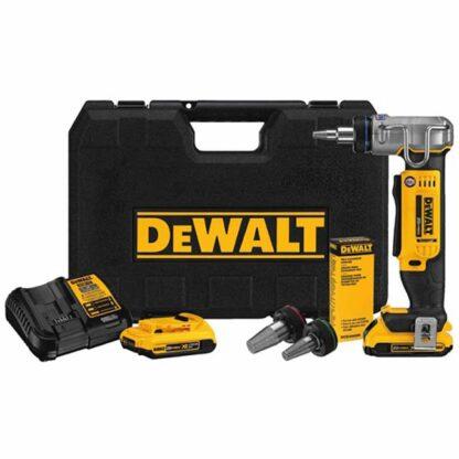 """Dewalt DCE400D2 20V MAX 1"""" PEX Expander Tool Kit"""