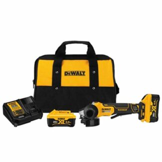 """Dewalt DCG413R2 4-1/2"""" 20V Max XR Small Angle Grinder Kit"""