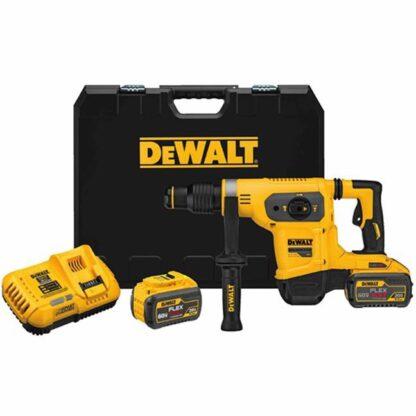 """Dewalt DCH481X2 60V Max Brushless 1-9/16"""" SDS Max Combination Hammer Kit"""