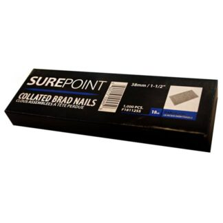 "SurePoint F18112SS 1-1/2"" Collated Brad Nails"