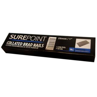 SurePoint F181SS Collated Brad Nails