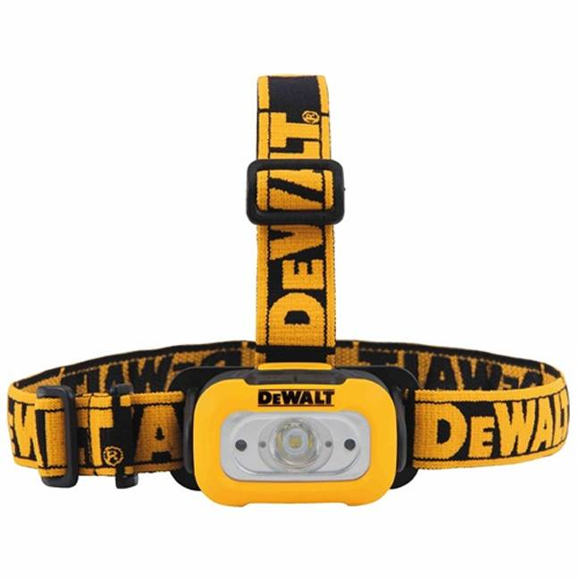 DeWalt DWHT8124 200 Lumen LED Headlamp