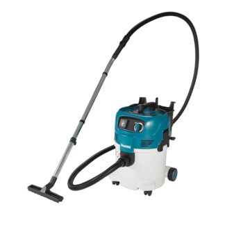 Makita VC3012L 30L Compact Push & Clean Wet/Dry Dust Extractor