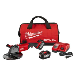 "Milwaukee 2785-22HD M18 FUEL 7"" / 9"" Large Angle Grinder Kit"