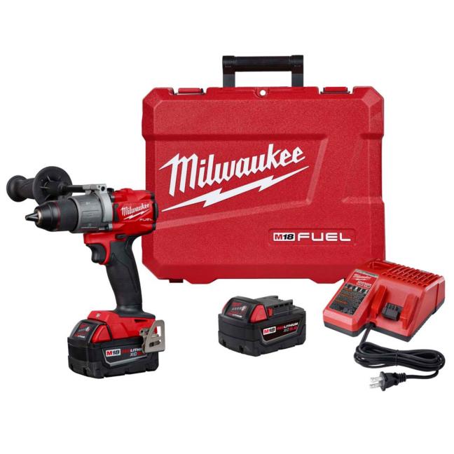 Milwaukee 2804-22 M18 FUEL Hammer Drill Kit