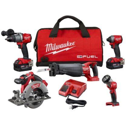 Milwaukee 2997-25 M18 FUEL 5-Tool Combo Kit