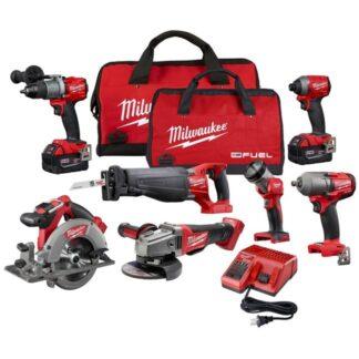 Milwaukee 2997-27 M18 FUEL 7-Tool Combo Kit