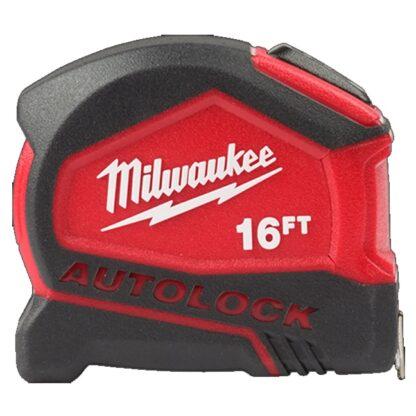 Milwaukee 48-22-6817 5m/16ft Compact Auto Lock Tape