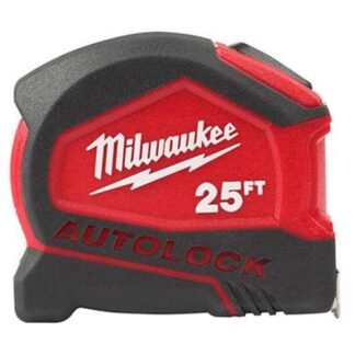 Milwaukee 48-22-6826 8m/26ft Compact Auto Lock Tape