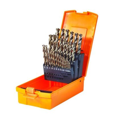 "Walter 01E678 1/16"" - 1/2"" by 64ths SST+ Drill Bit Set"