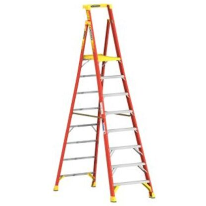 Werner PD6208CA 8FT Type IA Fiberglass Podium Ladder