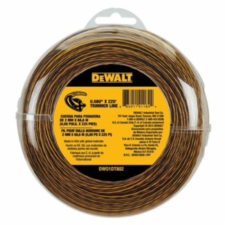 "DeWalt DWO1DT802 0.080"" X 100ft Trimmer Line"