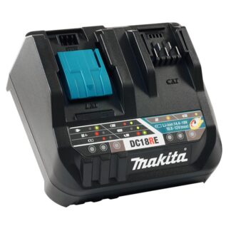 Makita DC18RE Dual-Port 18V LXT 12V CXT MAX Rapid Charger