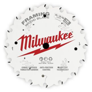 "Milwaukee 48-40-0522 5-3/8"" 16T Framing Circular Saw Blade"