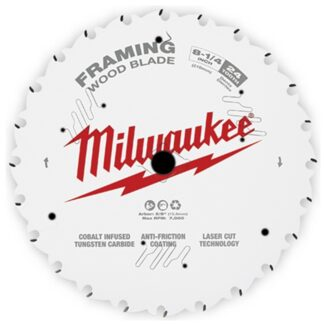 "Milwaukee 48-40-0820 8-1/4"" 24T Framing Circular Saw Blade"
