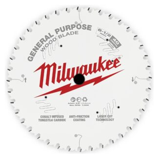 """Milwaukee 48-40-0824 8-1/2"""" 40T General Purpose Circular Saw Blade"""